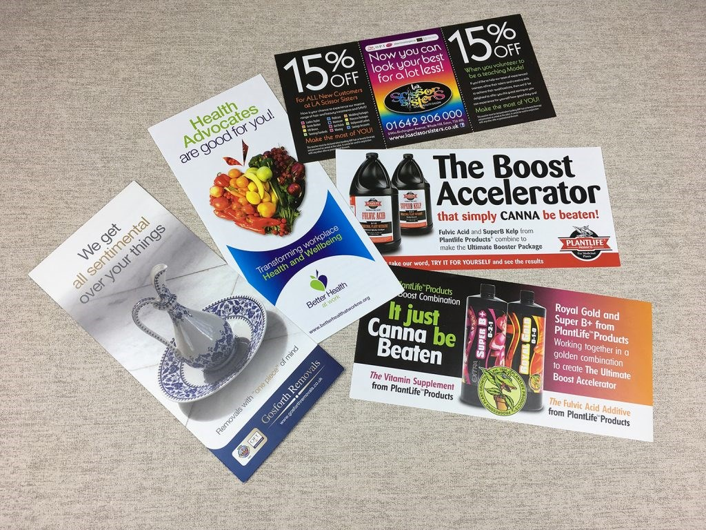 Creative Leaflets and Flyers